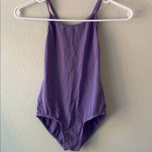 Girl's Lavender Leotard